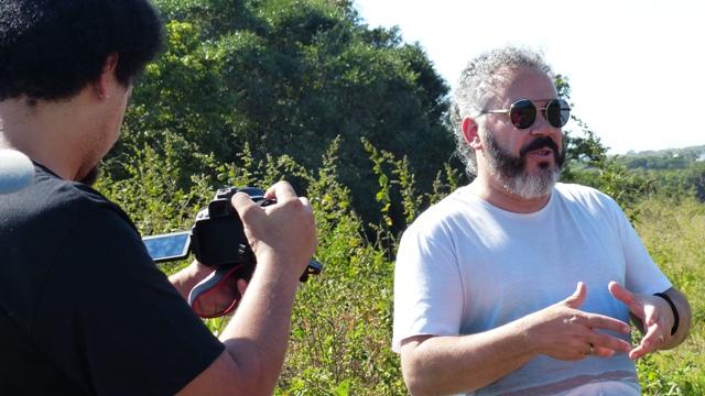 filmagem na fazenda campos novos
